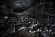 Podzemní továrna Richard - průchod do Čížkovické těžby z chodby D
