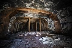 Podzemní továrna Richard - sloupový sál
