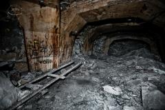 Podzemní továrna Richard - zbytek kolejí