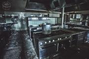 Urbex kuchyň