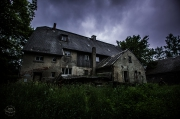 starý opuštěný dům