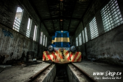 Důl Měděnec - Lokomotiva