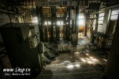 Důl Měděnec - Uvnitř