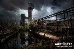 Důl Měděnec - Těžní věž