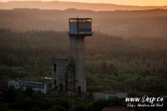 Důl Měděnec - Težní věž