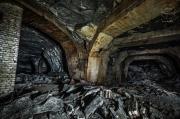 Podzemní továrna Richard - Křižovatka na chodbě C