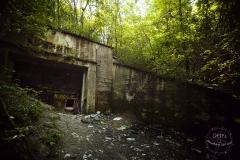 Podzemní továrna Richard - vchod
