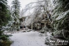 Část Sauersacku v zimě